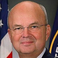 Michael Hayden pendant son mandat comme chef de la CIA. (CC BY-CIA / Wikipedia)