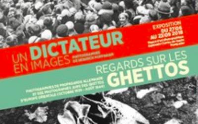 Affiche de l'exposition Un dictateur en images à Montpellier (Crédit : musée)