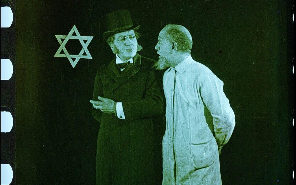 """Scène du film restauré """"City Without Jews"""" (Avec l'aimable autorisation de Film Archiv Austria)"""