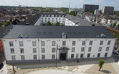 La caserne de Dossin, en Belgique, transformé en camp de transit par les Nazis (Crédit: Wasily/Wikimedia Commons)