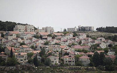 Vue de l'implantation juive d'Efrat en Cisjordanie (Hadas Parush/Flash 90)
