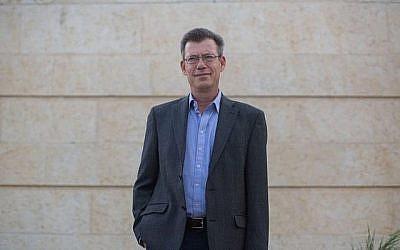 Emmanuel Nahshon, porte-parole du ministère des Affaires étrangères, 1er septembre 2014. Yonatan (Sindel/Flash90)