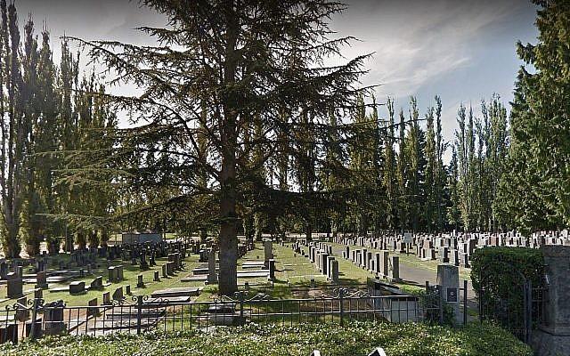 Le cimetière Bikur Cholim de Seattle. (Crédit : Google maps)