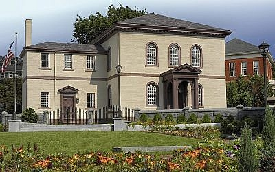 La propriété de la synagogue Touro à Rhode Island sera jugée par la Cour suprême. (Autorisation de Touro Synagogue via JTA)