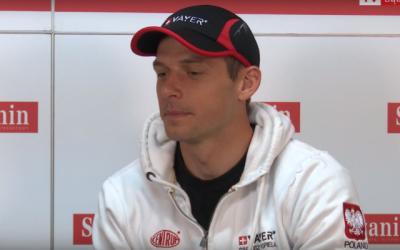 Dariusz Popiela, kayakiste olympique polonais. (Capture d'écran : YouTube)