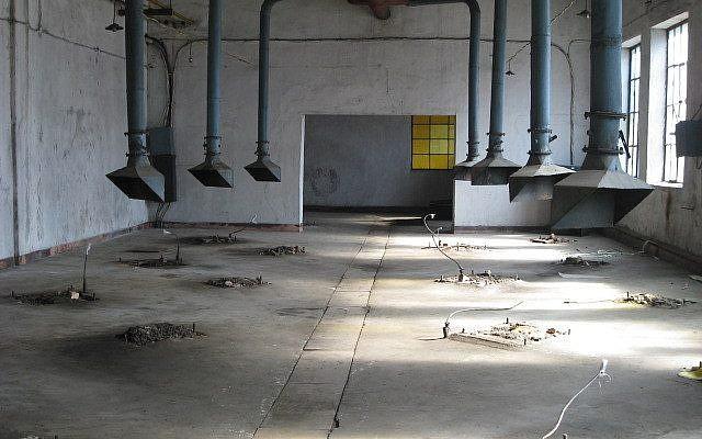 L'usine nucléaire de Yongbyon, en Corée du nord, vidée de tout son équipement. (Crédit : W. Keith Luse ; domaine public).