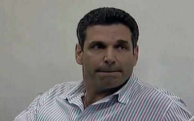 L'ancien ministre de l'Energie Gonen Segev (Capture d'écran : YouTube)