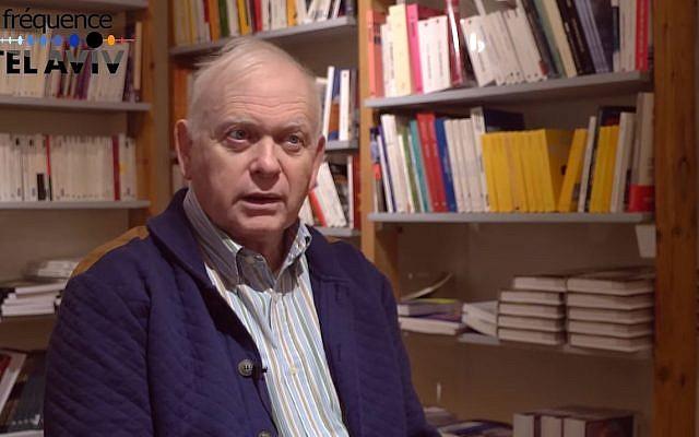 Le professeur Mickael Bar Zvi en avril 2017 (Crédit: capture d'écran Fréquence Tel Aviv/Youtube)