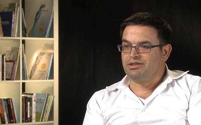 Michael Biton, le maire de Yeruham (Crédit: capture d'écran Contento Now)
