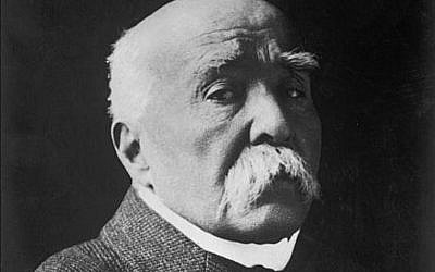 Georges Clemenceau (Crédit: Library of Congress)