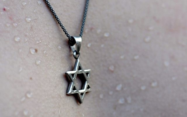 Pendentif étoile de David (image via Shutterstock)