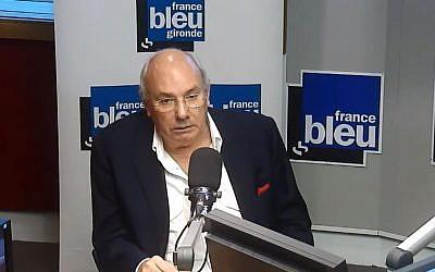 l'avocat Gérard Boulanger est mort le 8 juin 2018. Il avait déposé la première plainte du procès Papon (Crédit: capture d'écran France Bleu/Youtube)