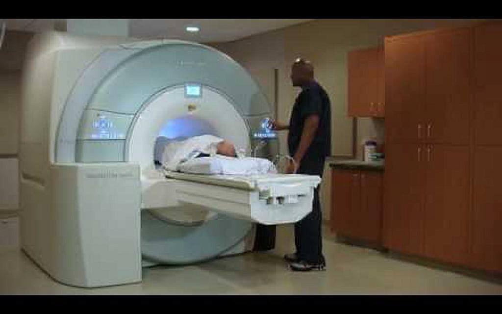 Appareil d'IRM de scannage cérébral