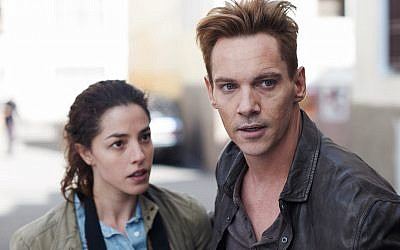 Olivia Thirlby et Jonathan Rhys Meyers dans Damascus Cover (Autorisation : Damascus Cover)