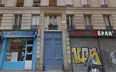 Le 209 rue Saint Maur aujourd'hui (Crédit: capture d'écran Google Street View)