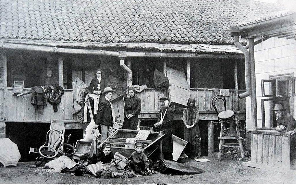 Photo du pogrom de Kishinev, en 1903. (Domaine public)