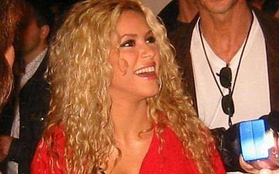 La chanteuse Shakira (Crédit: Wikimedia Commons/Martin Vasavsky)