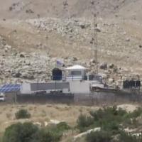 Un poste de l'ONU dans la zone tampon démilitarisée entre Israël et la Syrie sur le plateau du Golan aurait été repris par les forces pro-Assad en juin 2018. (Kan screen capture)