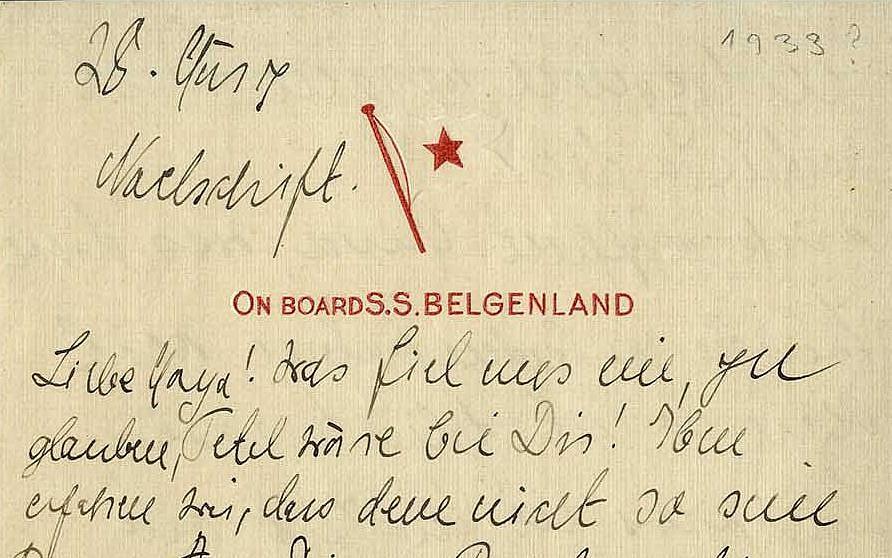 Des Lettres Manuscrites Dalbert Einstein En Vente Aux Enchères