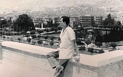 Eli Cohen, ,agent espion du Mossad, avec une montre au poignet. Il a été exécuté en Syrie en 1965. (Crédit: Bureau du Premier ministre)