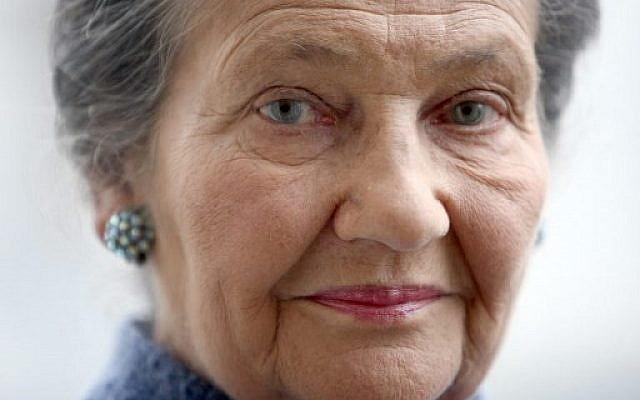 Simone Veil, le 26 octobre 2007. (Crédit : AFP PHOTO / Franck FIFE)