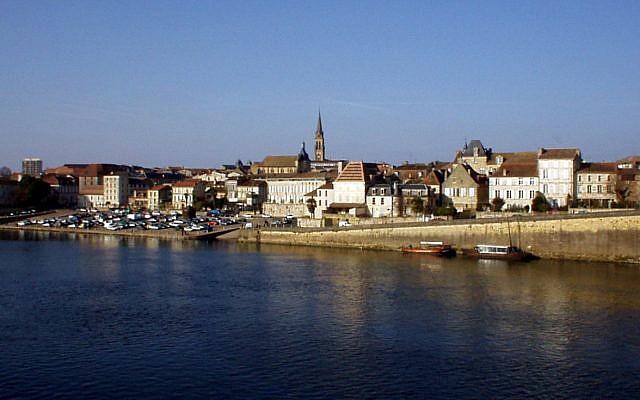 La ville de Bergerac, en Dordogne, dans le sud-ouest de la France (Crédit: Flyer84/Wikimedia Commons)