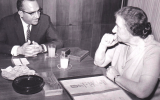 Bernard Giberstein, fondateur de Dim et Golda Meir. (Crédit.: Daniel Giberstein)