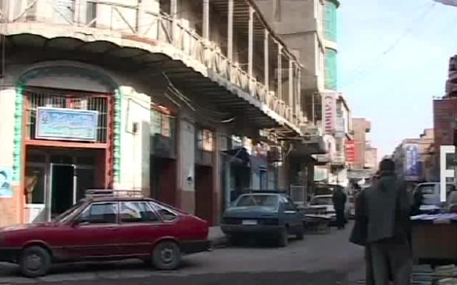 Le café Shabandar (Crédit : capture d'écran YouTube)