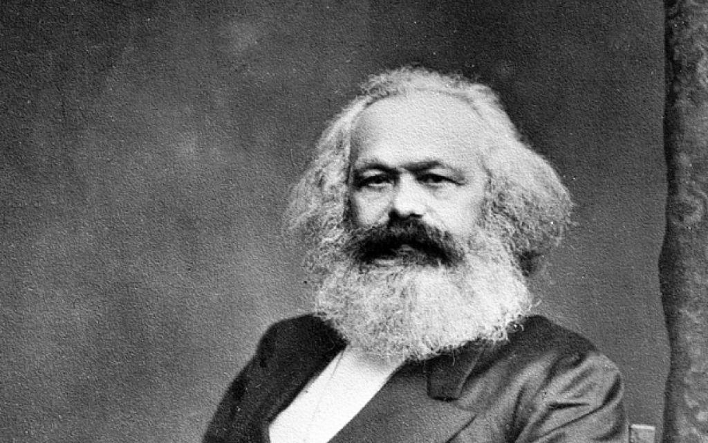 Karl Marx (Crédit : Domaine public)
