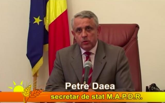 Petre Daea (Crédit : capture d'écran YouTube)
