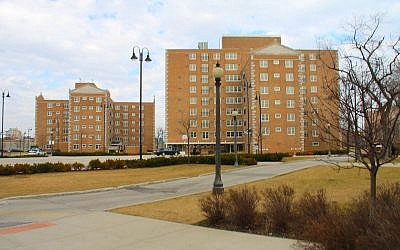 Les Dearborn Homes, ensemble de logements sociaux au sud de Chicago, Etats-Unis. (Wikipedia CC BY 2.0)