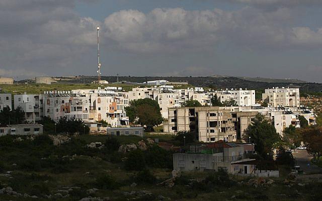 Une vue de l'implantation d'Emmanuel en Cisjordanie, le 12 avril 2010 (Crédit : Kobi Gideon/Flash90)