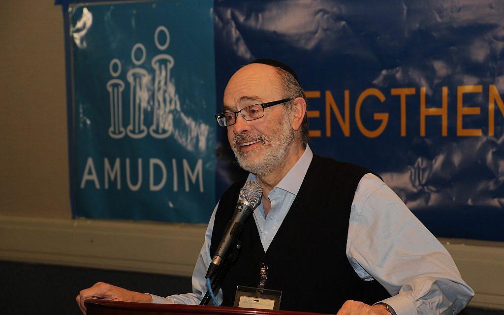Le cofondateur d'Amudim Mendy Klein. (Autorisation : Amudim)