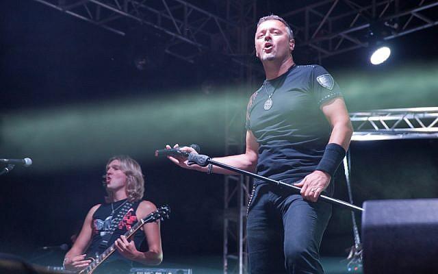 Le chanteur croate Marko Perkovic, aussi appelé Thompson (Crédit : Wikimedia Commons/CC BY-SA 3.0)
