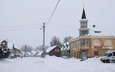 Vue de la ville de Mustla en Estonie (Wikipedia / Domaine public)