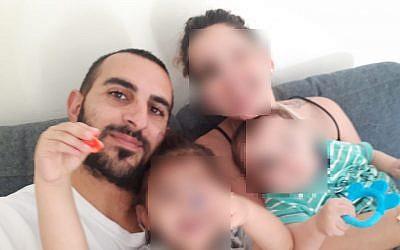 Yotam Ovadia, qui a été tué dans un attentat terroriste en Cisjordanie, dans l'implantation d'Adam, le 26 juillet 2018 (Autorisation)