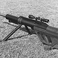 Une arme perforante de type Steyr IWS 2000 . Photo d'illustration (Crédit : Domaine public/armée américaine)