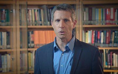 L'expert des droits de l'Homme Yuval Shany (Capture d'écran : YouTube)