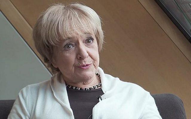 La député Margaret Hodge. (Crédit : capture d'écran YouTube)
