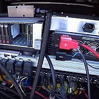 Le cerveau à l'intérieur de la voiture autonome d'Intel Corp. / Mobileye (Capture d'écran YouTube)
