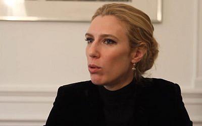 L'avocate Clélie de Lesquen (Crédit: capture d'écran Emi Sphère/Youtube)