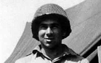 Le sergent David Rosenkrantz du 82nd Airborne, pendant la Seconde guerre mondiale (Autorisation : Page à la mémoire de David Rosenkrantz)