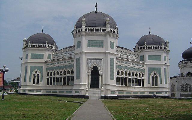 Illustration. La Grande mosquée de Medan, en Indonésie. (Crédit : CC BY-SA 3.0)