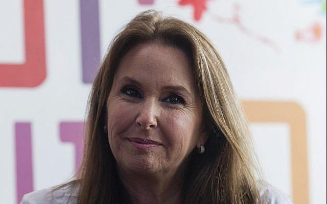 Shari Arison, femme d'affaires israélienne née aux Etats-Unis et propriétaire d'Arison Holdings, à Jérusalem, le 4 mars 2013. (Flash90)