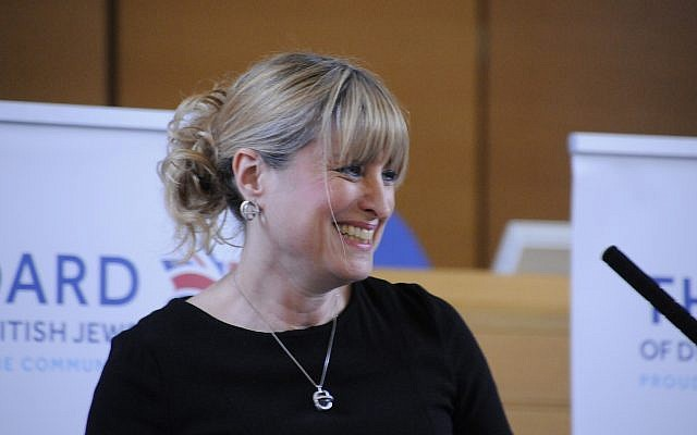 La nouvelle présidente du Conseil des représentants des Juifs britanniques, Marie van der Zyl (Autorisation)