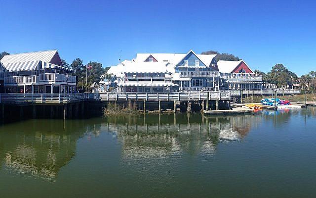 Hilton Head, en Caroline du Sud (Crédit : CC BY Chad Sparkes, Flickr)