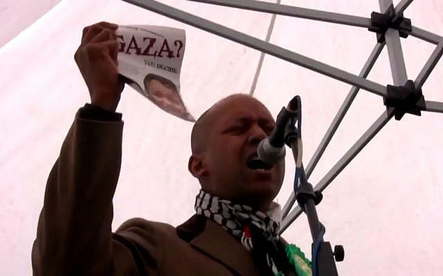Shahrar Ali (Crédit : capture d'écran YouTube)