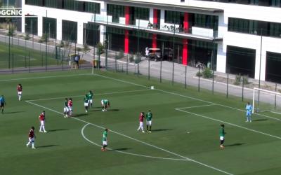 La rencontre entre Brighton et l'OGC Nice (Capture d'écran : Youtube)