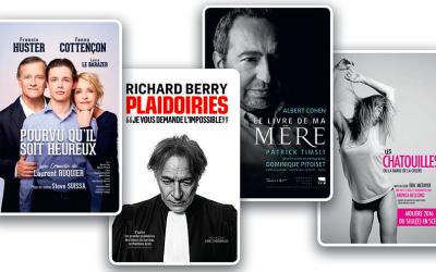 Différentes pièces de théâtre à la deuxième édition du Festival de théâtre français en Israël (Crédit : capture d'écran site officiel)