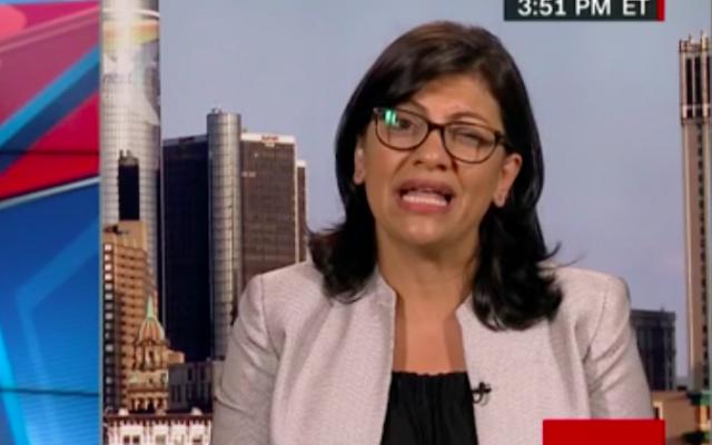 Rashida Tlaib (Crédit : capture d'écran CNN)